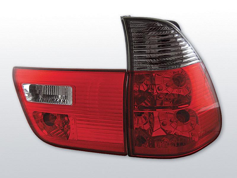 Zadné svetlá číra, BMW X5 E53, 1999->2003