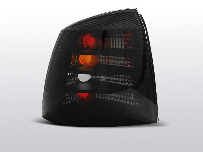 Zadné svetlá číra, OPEL ASTRA G, 1997-2004, 3D/5D SMOKE