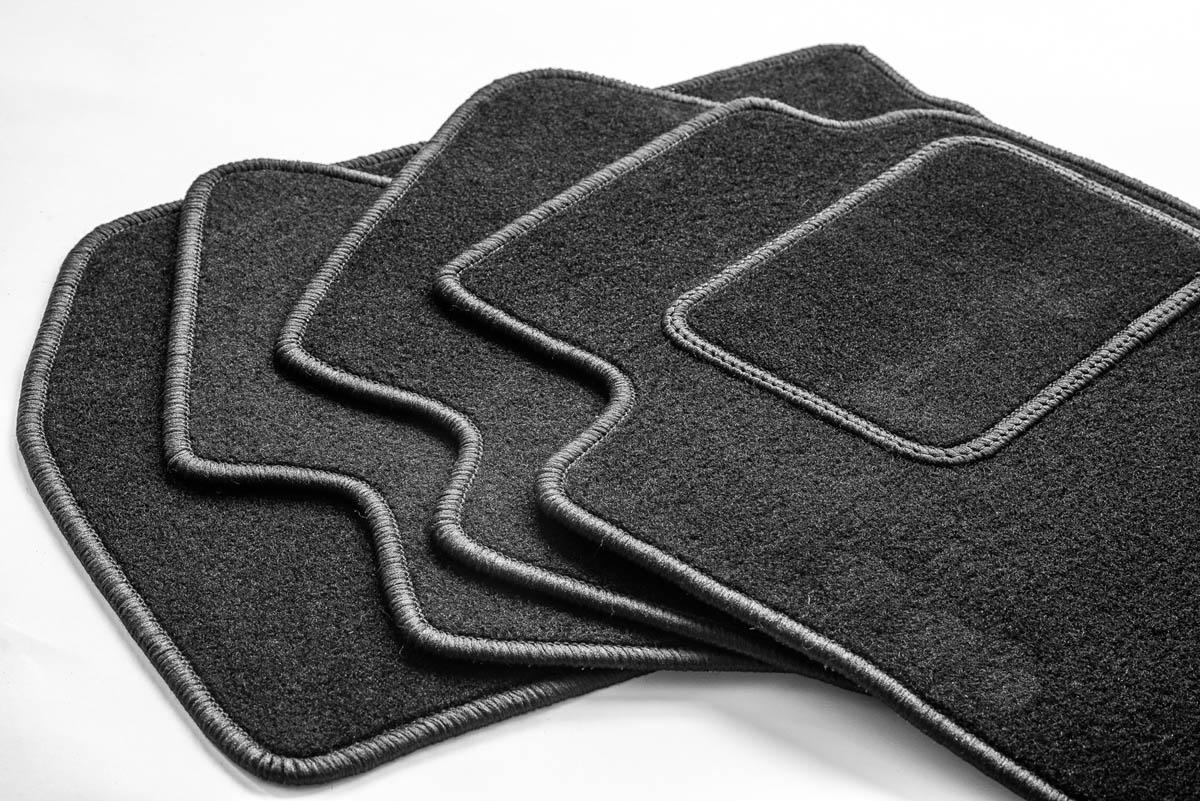 Textilné velúrové koberčeky-Premium šité na mieru, ŠKODA CITIGO, 2011->