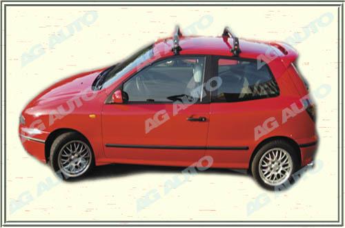 Spoiler zadných dverí horný, FIAT Bravo, 09/95->