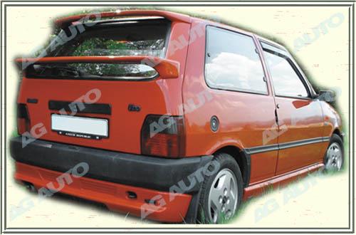Spoiler zadných dverí spodnej, FIAT Uno Logo, 10/89-8/93