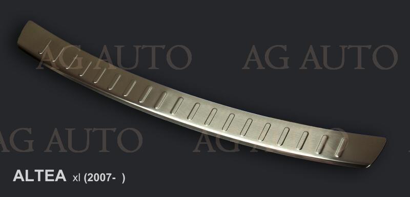 Nerezový kryt hrany kufra, SEAT ALTEA XL, 2006->