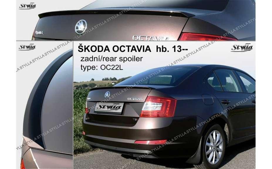 Spojler na kapotu, Škoda Octavia III Hatchback, 2013->