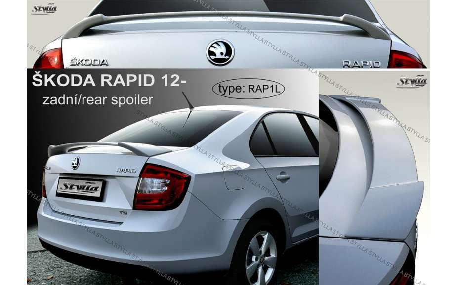 Spojler na kapotu, Škoda Rapid, 2012->