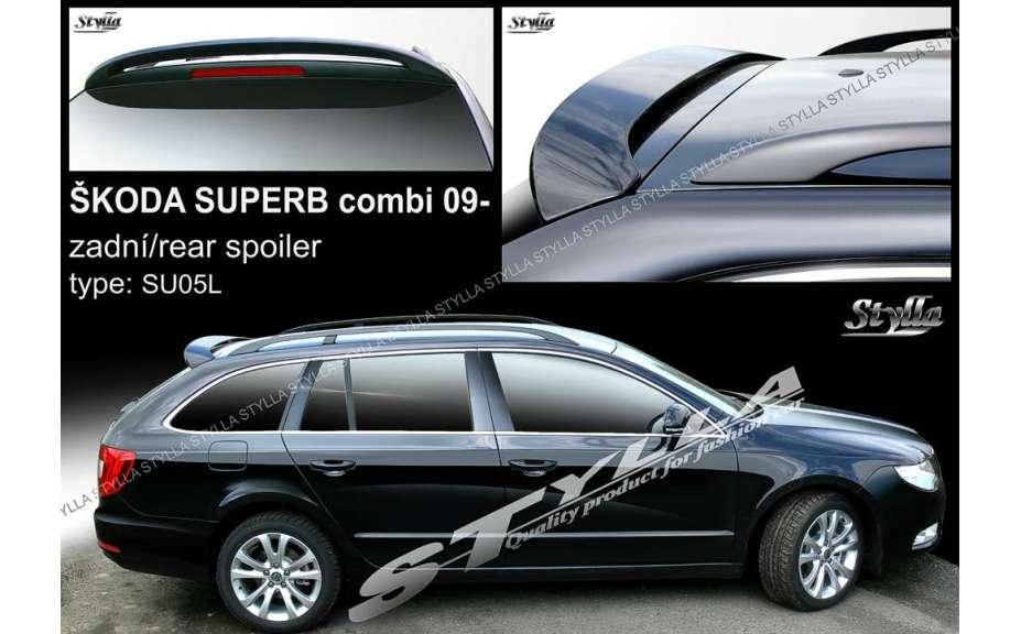 Spojler na kapotu, Škoda Superb II, 2009->, Combi