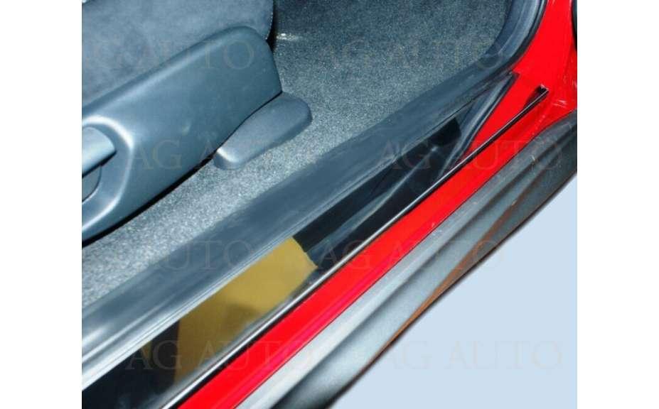 Nerezové kryty prahov, Renault Latitude 2011 ->, Sedan, 4 dvér.