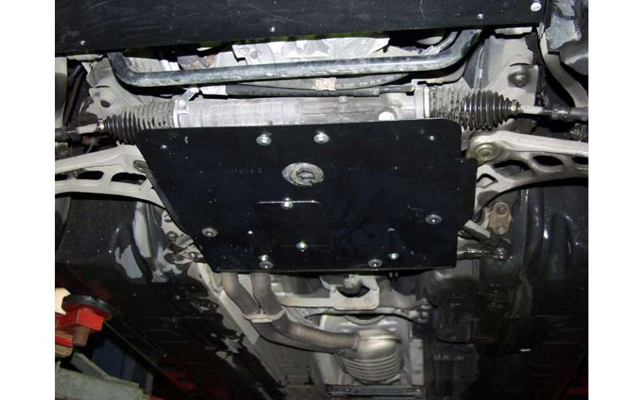 Kryt motora, BMW 3-er, (E46), 1998->2001, ohýbaný, oceľ 2 mm
