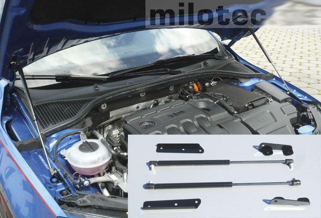 Plynová vzpěra kapoty motoru, Škoda Octavia III, 2013->, Sedan