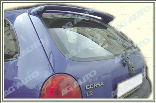 Spoiler zadných dverí horný, OPEL Corsa, 03/93-09/00 Corsa B 3dv.