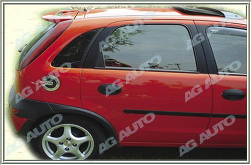 Spoiler zadných dverí horný, OPEL Corsa, 09/00-> Corsa C 5dv.