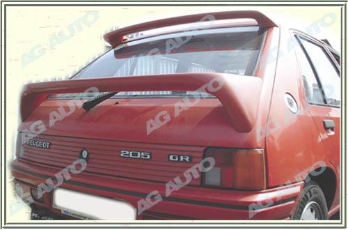 Spoiler zadných dverí horný, PEUGEOT 205, 02/83-10/87