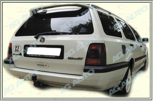 Spoiler zadných dverí horný, VW Golf III, 10/93-10/97