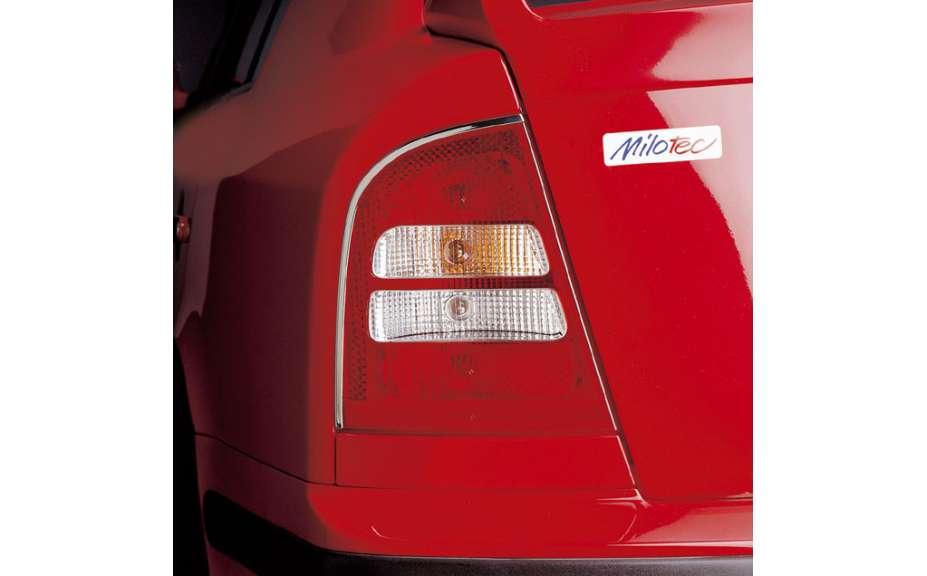Lišty zadných svetiel - boční - nerez, Škoda Octavia I, 1997–2010, Limousine; i pro RS