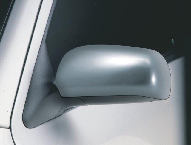 Kryty zpětných zrcátek - ABS - design matný chrom, Škoda Octavia I, 2000-2010