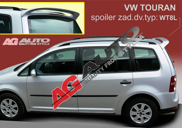 Spoiler zadné kapoty, VW Touran, 5 dvér. 2003->
