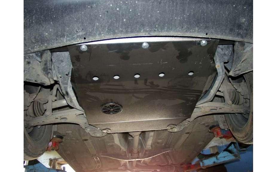 Kryt motora a prevodovky, SKODA Octavia I (Tour), (1U; 1U5), 1996->2010, ohýbaný, oceľ 2 mm