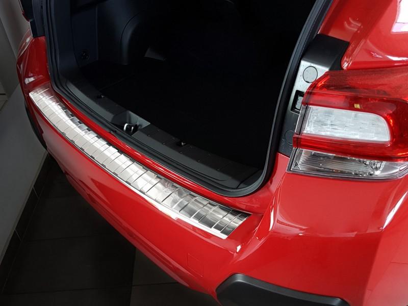Nerezový kryt hrany kufra, Subaru XV II, 2017-, Crossover
