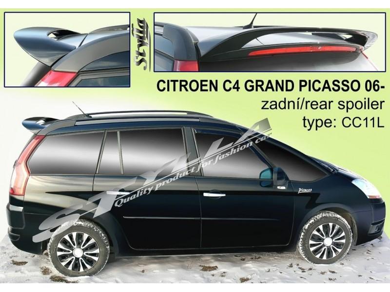 Spoiler zadných dverí horný, Citroen C4 Grand Picasso, 2006-2013