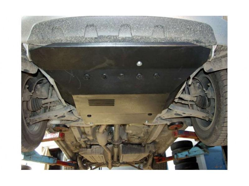 Kryt motora a prevodovky, TOYOTA RAV 4 II, (XA2), 2000->2005, ohýbaný, oceľ 2 mm