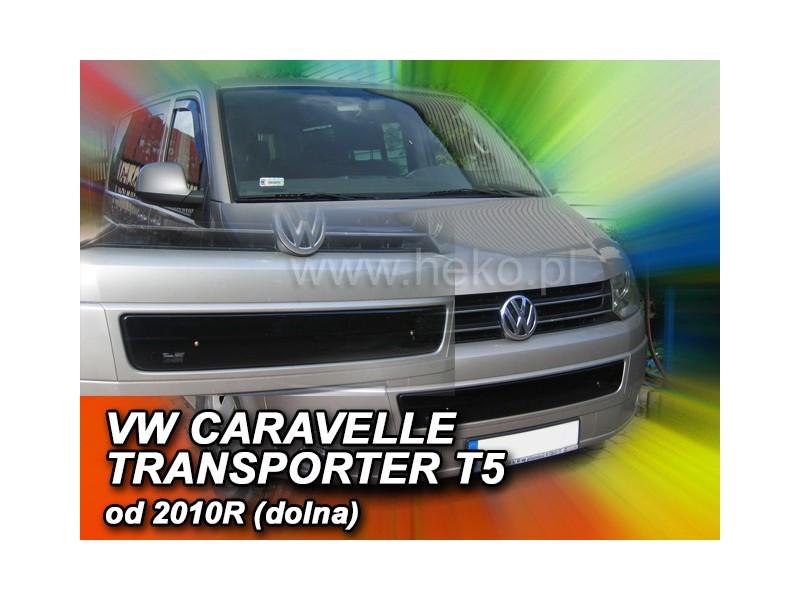 Zimná clona - kryt chladiča, VW Caravela/T5, 2009->, (dolni)