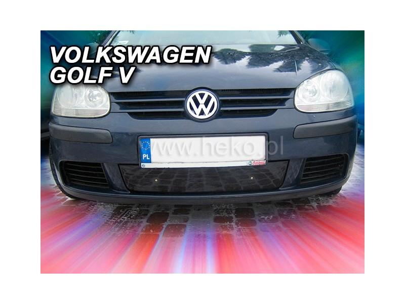 Zimná clona - kryt chladiča, VW Golf V, 2004->2008, mimo Combi, (dolni)