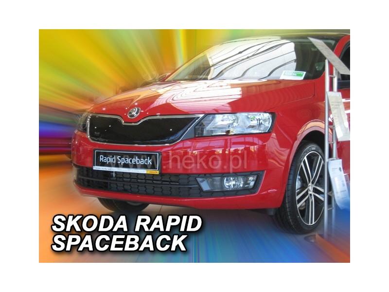 Zimná clona - kryt chladiča, Škoda Rapid, spaceback / liftback, 2012->