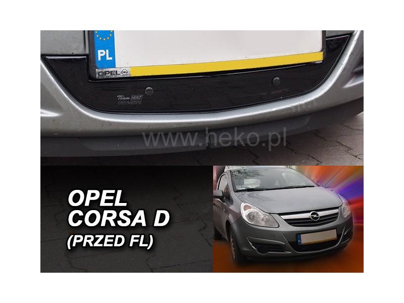 Zimná clona - kryt chladiča, Opel Corsa D, 2006-2011, pred FL