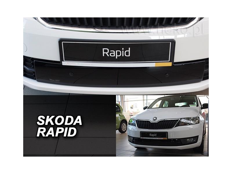Zimná clona - kryt chladiča, Škoda Rapid, spaceback / liftback, 4/5 dvér., 2012->, (dolná)