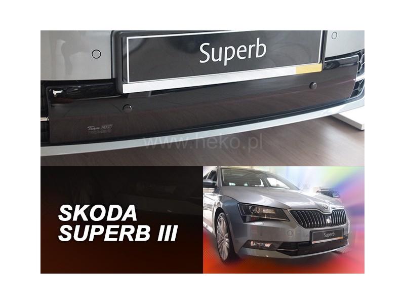 Zimná clona - kryt chladiča, Škoda Superb III, 2015->, dolní