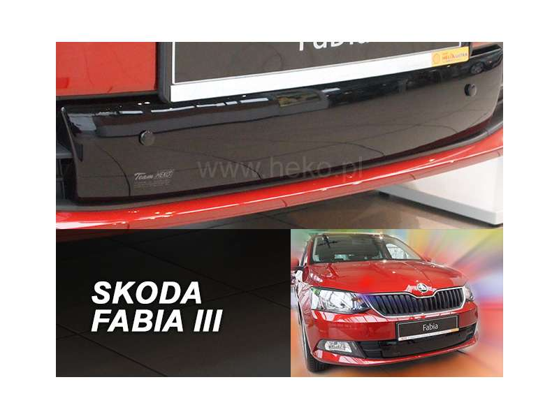 Zimná clona - kryt chladiča, Škoda Fabia III, 2014-2018, dolná