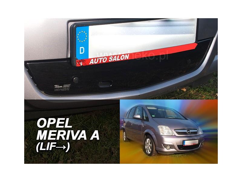 Zimná clona - kryt chladiča, Opel Meriva I A, 5.dvér, 2006 - 2010