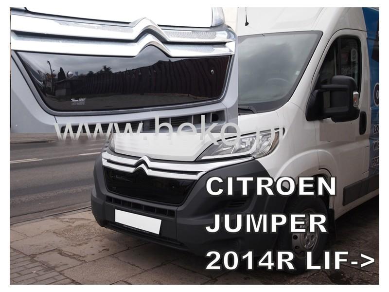 Zimná clona - kryt chladiča, Citroen Jumper, 2014->