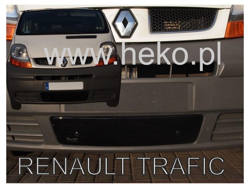Zimná clona - kryt chladiča, Renault Trafic II, 2001-2006, dolní