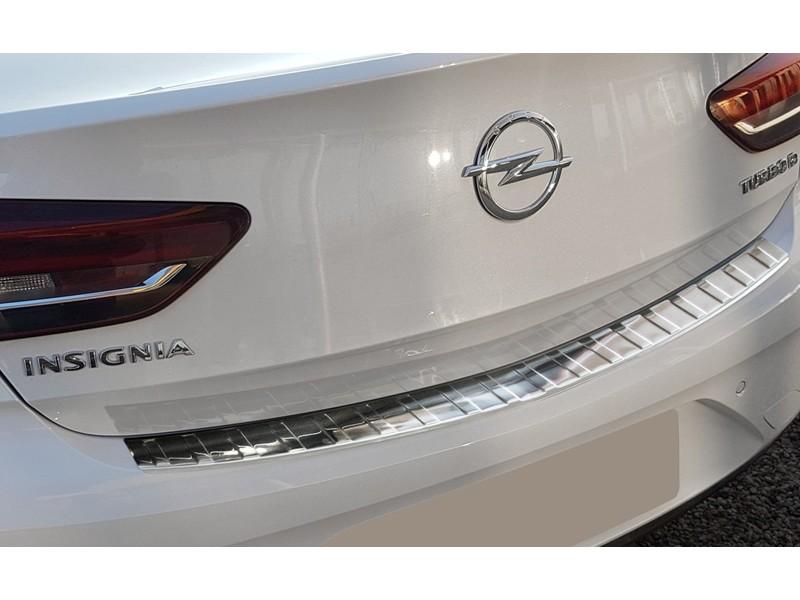 Nerezový kryt hrany kufra, Opel Insignia B Grand Sport, 2017->, liftback