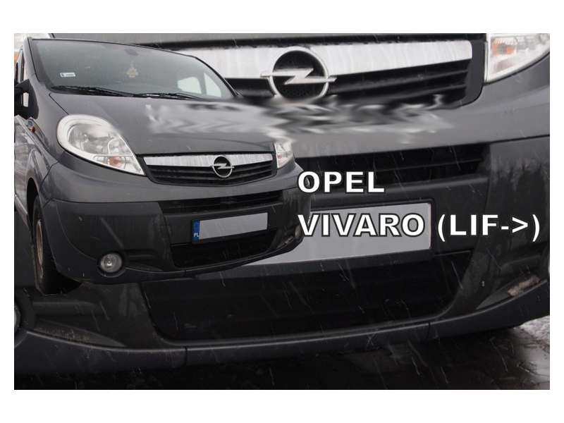 Zimná clona - kryt chladiča, Opel Vivaro, 2007 - 2014