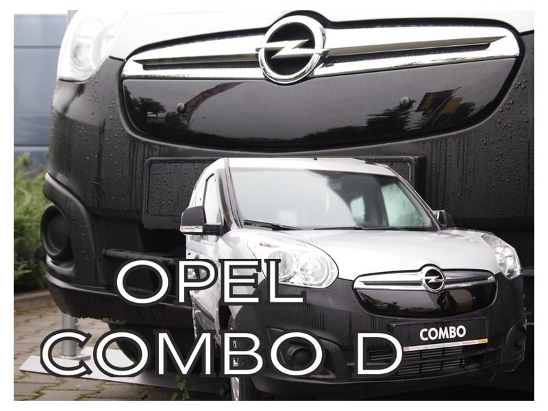 Zimná clona - kryt chladiča, Opel Combo D, 2011 - 2018