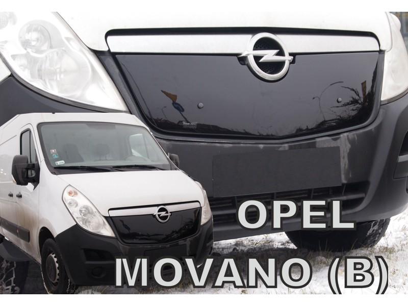 Zimná clona - kryt chladiča, Opel Movano B, 2010 -