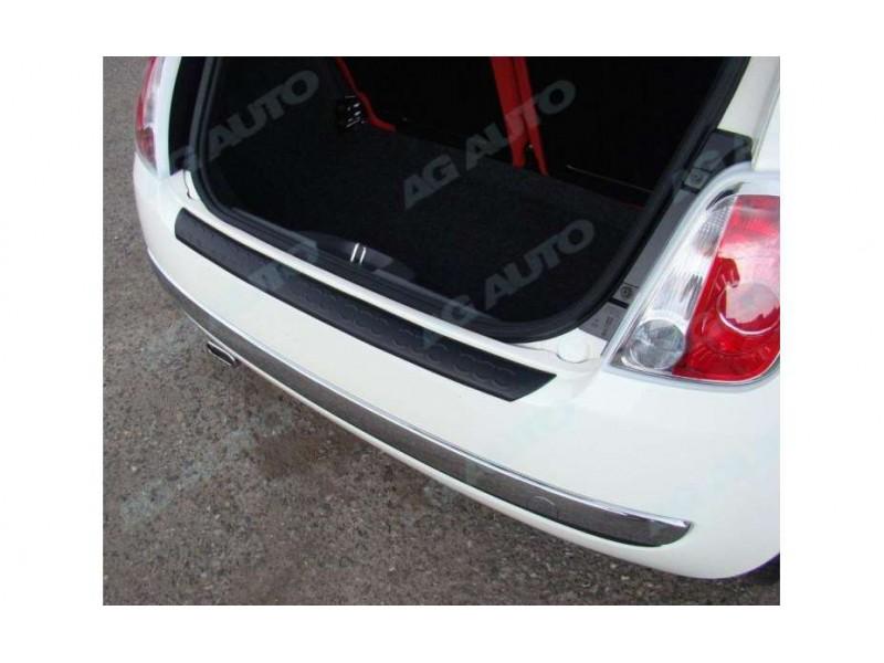 Nakładka na tylny zderzak, Fiat 500, 2008->