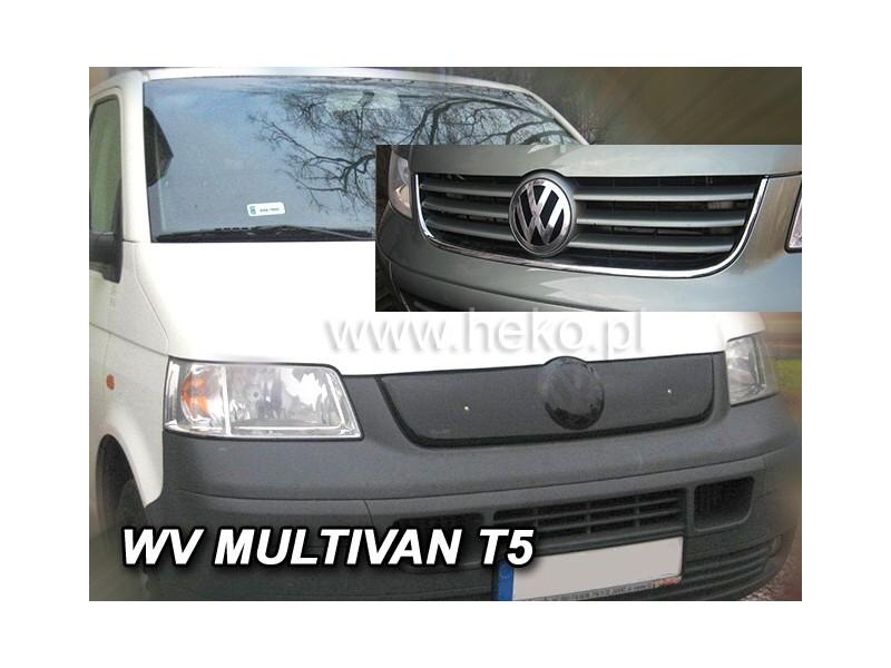 Zimná clona - kryt chladiča, VW T5 (Multivan), 2002 -> 2010 (3 rebrá masky)