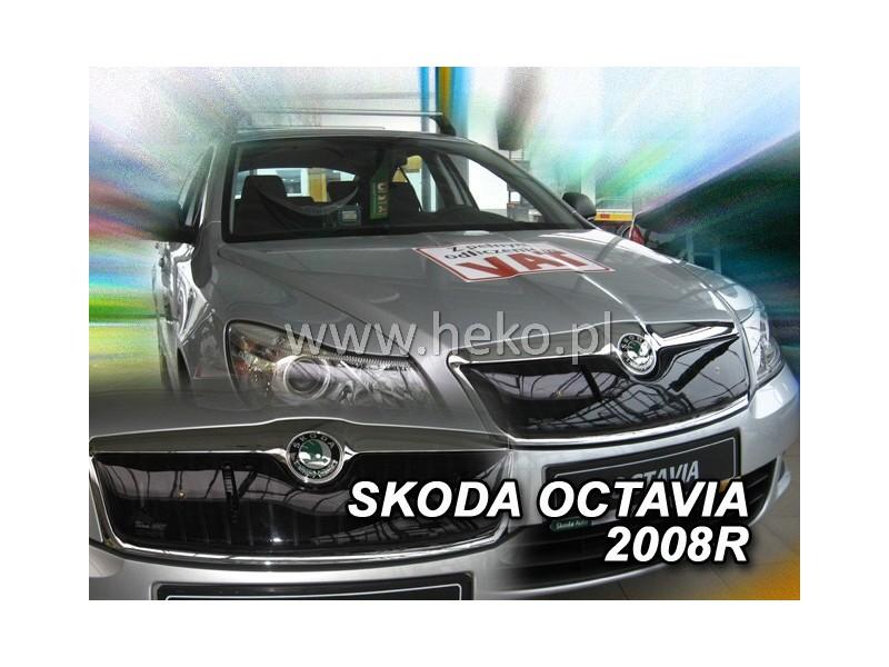 Zimná clona - kryt chladiča, Škoda Octavia II, 2008->, Lim., Combi, (facelift)
